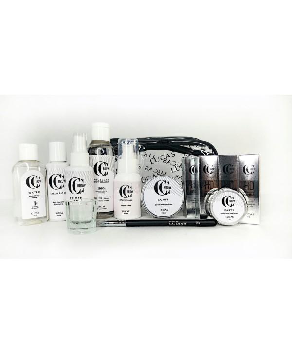 Kit Expert Henna Premium HD CC Brow Lucas