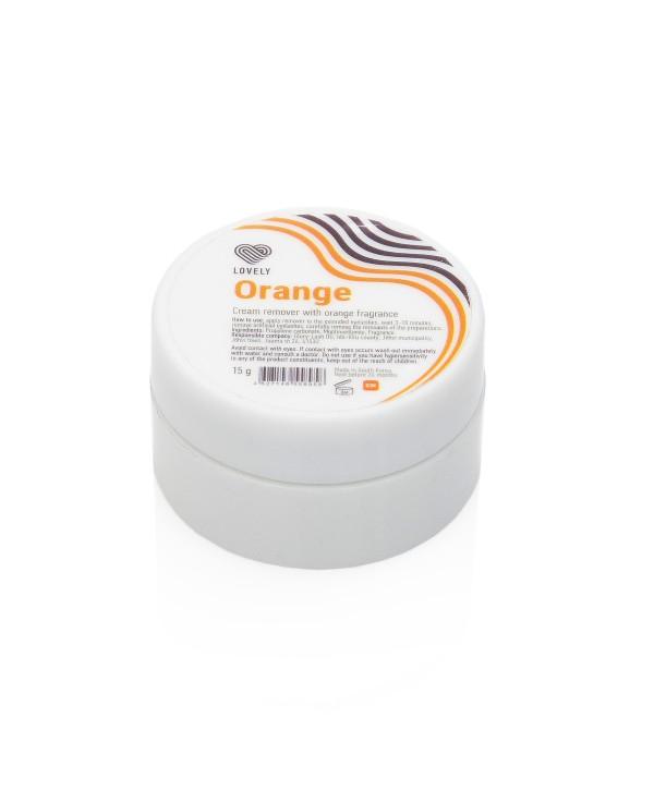 Lovely  Cream Remover Orange 15gr