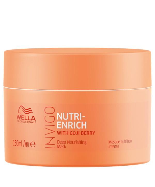 Wella Professionals  Masca Intens Nutritiva-Wella Professionals Invigo Nutri Enrich Deep Nourishing Mask, 150ml
