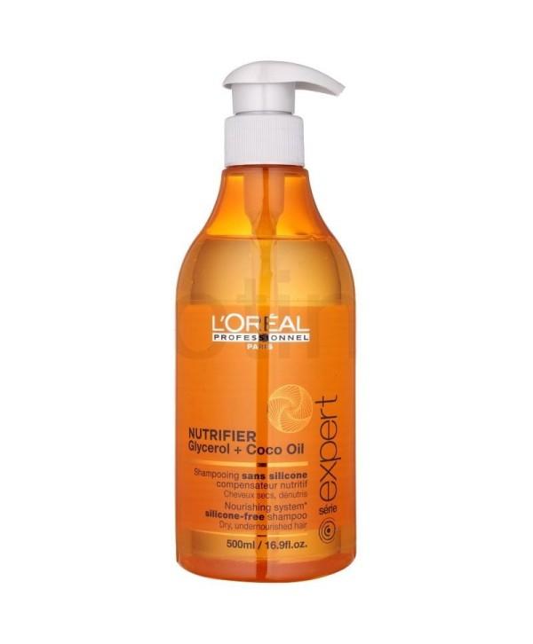 L'Oreal Professionnel Sampon Nutritiv - L'Oreal Professionnel Nutrifier Shampoo 500 ml.