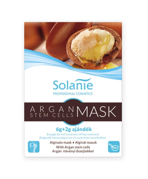 Solanie Masca Alaginata cu Cellule Stem de Argan 8g