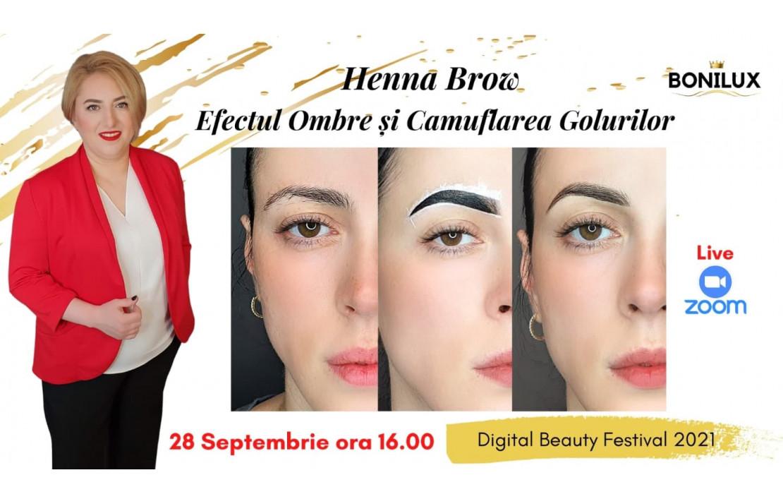 Henna Brow - Efectul Ombre Si Camuflarea Golurilor din Henna - Lutic Nicoleta